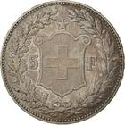 Switzerland / Five Francs 1890 - reverse photo