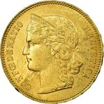 Switzerland / Twenty Francs 1890 - obverse photo