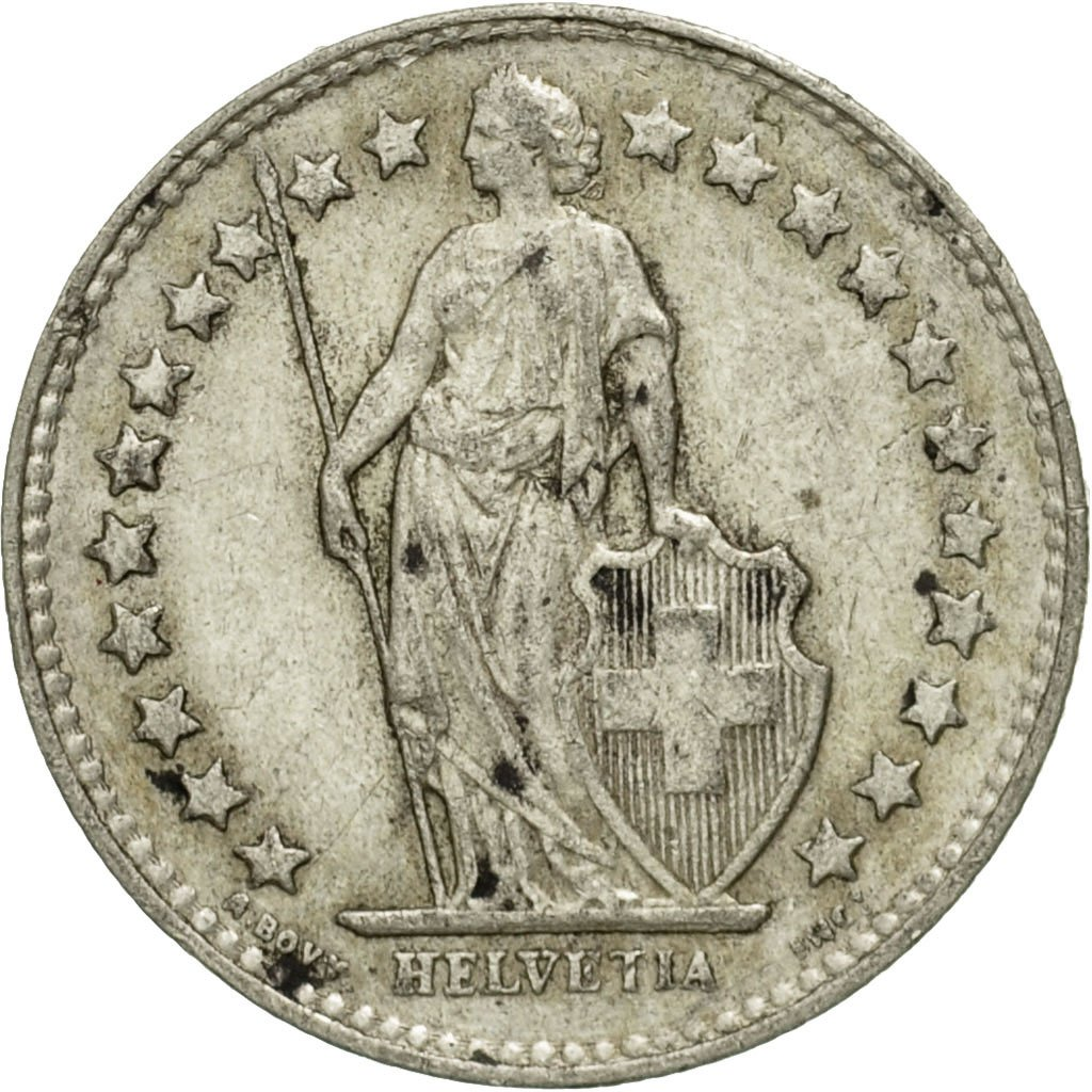 Half Franc 1951: Photo Coin, Switzerland, 1/2 Franc, 1951
