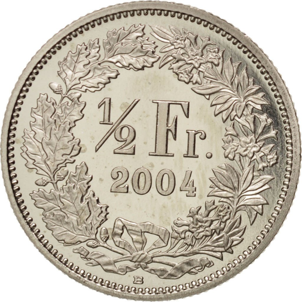 Half Franc 2004: Photo Coin, Switzerland, 1/2 Franc, 2004