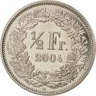 Switzerland / Half Franc 2004 - reverse photo