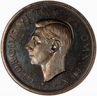 Crown 1937: Photo Proof Coin - Crown, George VI, Great Britain, 1937