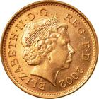 United Kingdom / One Penny 2002 - obverse photo
