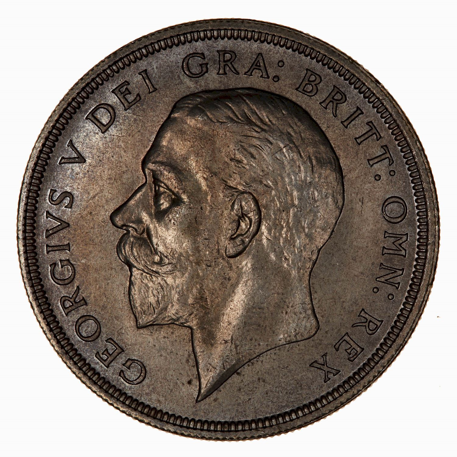 Crown 1936: Photo Coin - Crown, George V, Great Britain, 1936