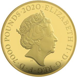 United Kingdom / Gold Seven Kilos (7 kg) - obverse photo
