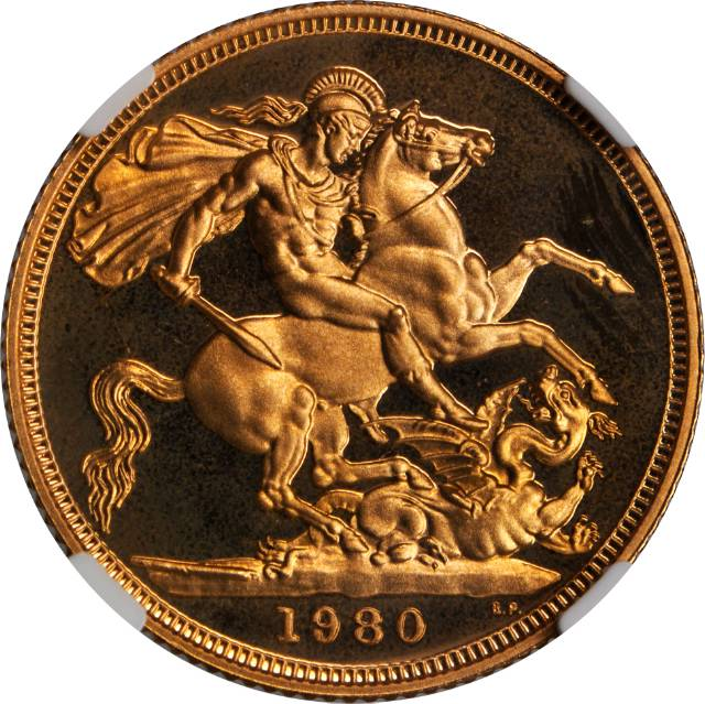 Sovereign 1980: Photo Great Britain 1980 sovereign