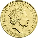 United Kingdom / Gold Ounce 2016 Lion of England - obverse photo