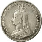 United Kingdom / Threepence 1890 (Circulating) - obverse photo