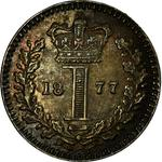 United Kingdom / Penny 1877 (Maundy) - reverse photo