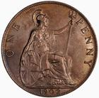 Penny 1902: Photo Coin - Penny, Edward VII, Great Britain, 1902