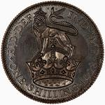 Shilling 1928: Photo Proof Coin - Shilling, George V, Great Britain, 1928