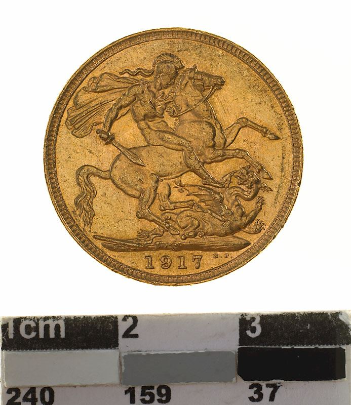 Sovereign 1917: Photo Coin - Sovereign, New South Wales, Australia, 1917