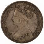 Florin 1884: Photo Silver florin, Great Britain