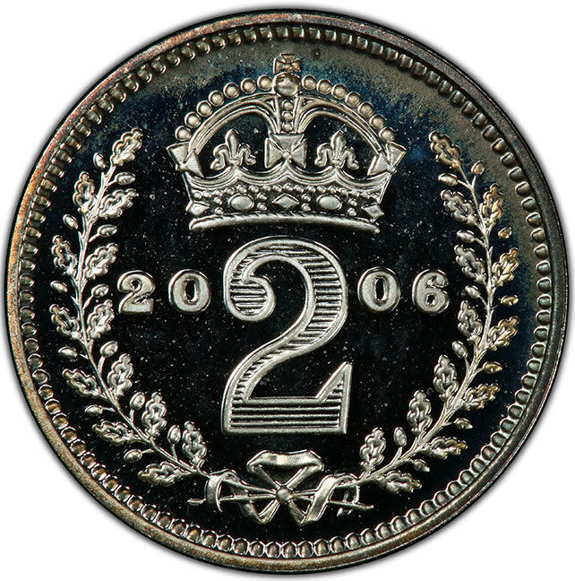 Twopence 2006 (Maundy): Photo Coin, Great Britain, 2 Pence, 2006