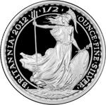 United Kingdom / Silver Half Ounce 2012 Britannia - Standing - reverse photo