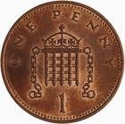 United Kingdom / One Penny 1983 - reverse photo