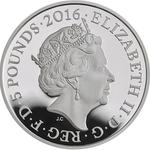 United Kingdom / Five Pounds 2016 Battle of the Somme - obverse photo