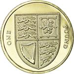 United Kingdom / One Pound 2008 Shield - reverse photo