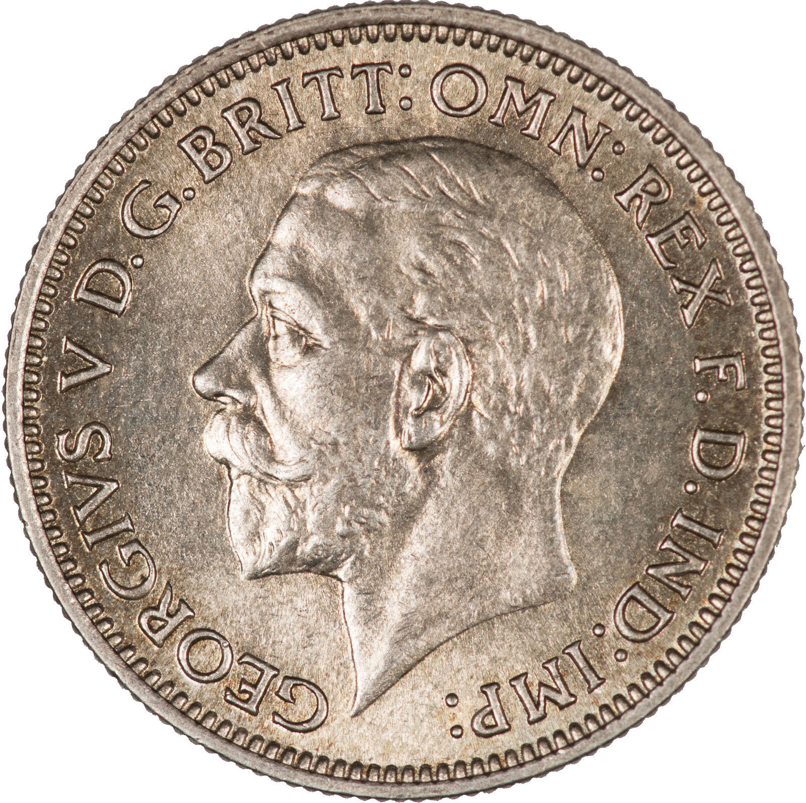 Sixpence 1933: Photo Great Britain 1933 6 Pence