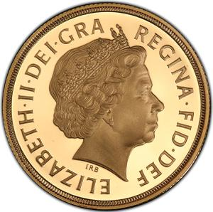 United Kingdom / Double Sovereign (Decimal) - obverse photo