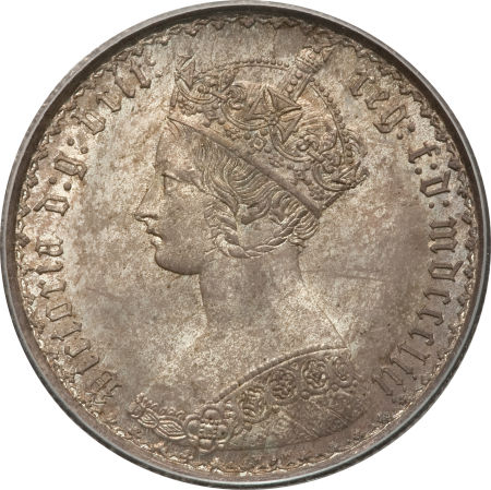 Florin 1853: Photo Great Britain 1853 florin