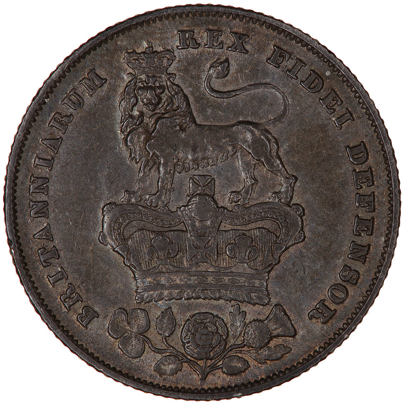 Shilling 1826: Photo Coin - Shilling, George IV, Great Britain, 1826