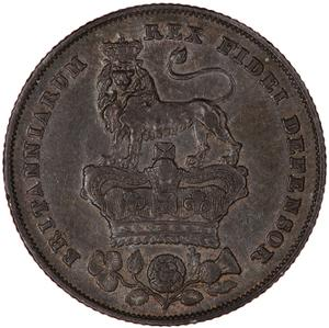 United Kingdom / Shilling 1826 - reverse photo