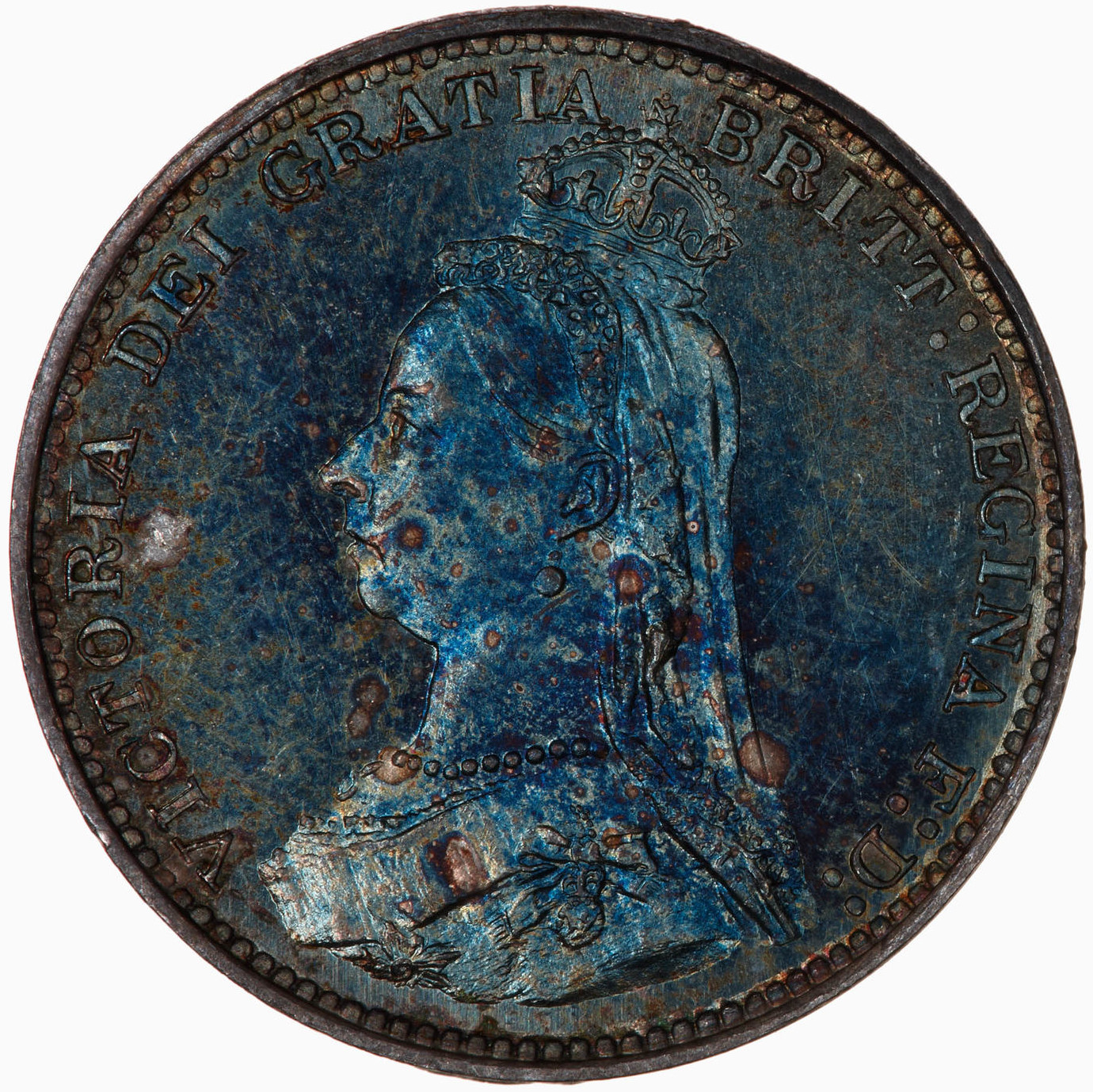 Threepence 1889 (Maundy): Photo Coin - Threepence (Maundy), Queen Victoria, Great Britain, 1889