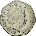 United Kingdom / Fifty Pence 2003 - obverse photo