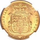 Sovereign 1825 Shield: Photo Great Britain 1825 sovereign Fr-377