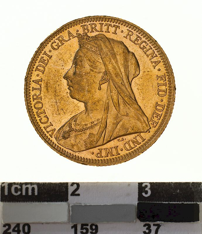 Sovereign 1894: Photo Coin - Sovereign, New South Wales, Australia, 1894