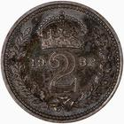 Twopence 1932 (Maundy): Photo Coin - Twopence (Maundy), George V, Great Britain, 1932