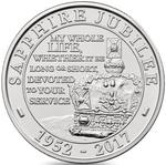 United Kingdom / Five Pounds 2017 Sapphire Jubilee - reverse photo