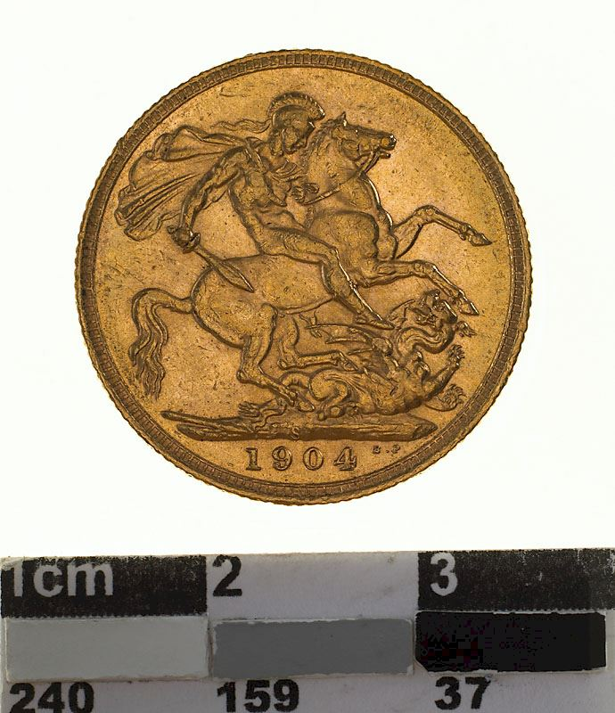 Sovereign 1904: Photo Coin - Sovereign, New South Wales, Australia, 1904