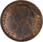 Penny 1889: Photo Coin - Penny, Queen Victoria, Great Britain, 1889