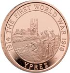 United Kingdom / Five Pounds 2018 Ypres - reverse photo