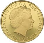 United Kingdom / Gold Half Ounce 2014 Britannia (Proof) - obverse photo