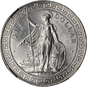 United Kingdom / One Dollar 1930 - obverse photo