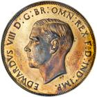 United Kingdom / Penny 1937 Edward VIII (not released) - obverse photo