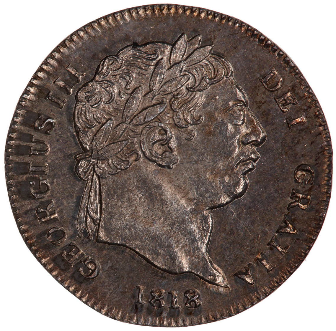 Maundy Twopence (Pre-decimal): Photo Coin - Twopence, George III, Great Britain, 1818