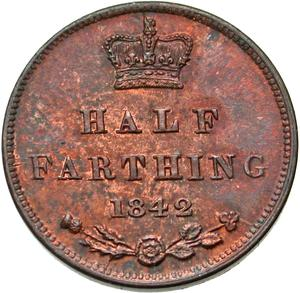United Kingdom / Half Farthing 1842 - reverse photo