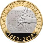 United Kingdom / Two Pounds 2019 Pepys - reverse photo