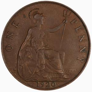 United Kingdom / Penny 1920 - reverse photo