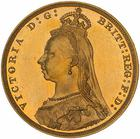 United Kingdom / Sovereign 1893 Jubilee head - obverse photo