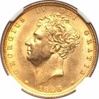 United Kingdom / Sovereign 1825 Shield - obverse photo
