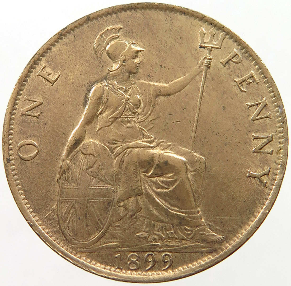 Penny 1899: Photo Great Britain Penny 1899