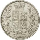 Halfcrown 1884: Photo Silver 1/2 crown, Great Britain