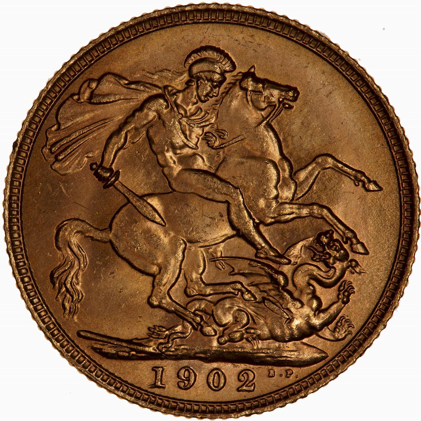 Sovereign (Pre-Decimal): Photo Coin - Sovereign, Edward VII, Great Britain, 1902