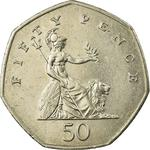 United Kingdom / Fifty Pence 2000 - reverse photo