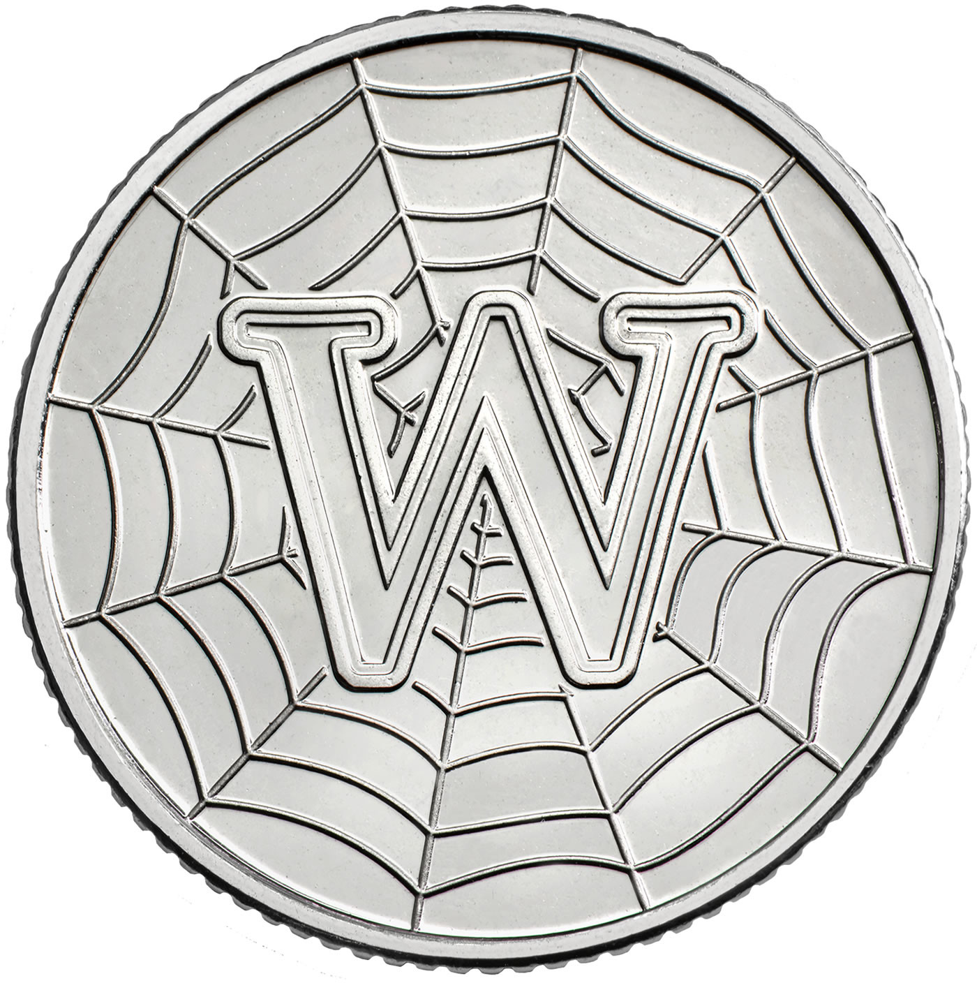 Ten Pence 2019 W - World Wide Web: Photo W - World Wide Web 2019 UK 10p Coin | The Royal Mint
